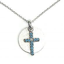 Gemolithos-Sun-&-Cross-Silver-Pendant