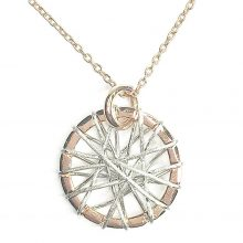 Gemolithos-Sun-Dreamcatcher-Rose-Gold-Plated-Pendant