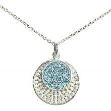 Gemolithos-Sun-&-Moon-Silver-Pendant-with-White-&-Blue-Cubic-Zirconia