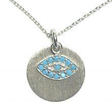 Gemolithos-Sun-&-Protect-Eye-Silver-Pendant