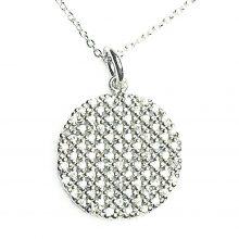 Gemolithos-Sun-Silver-Pendant-with-Cubic-zirkonia