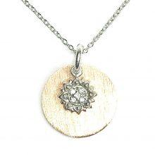 Gemolithos-Sun-&-Sun-Pendant-Silver-Rose-Gold-Plated