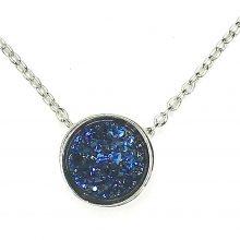 Gemolithos-druzy-Blue-Stone-&-Silver-Pendant
